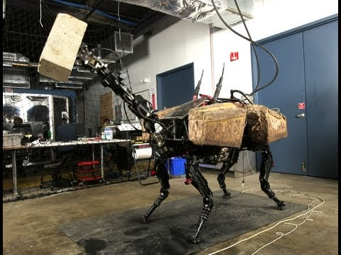 Pentagon's Scariest Robot Can Now Hurl Cinder Blocks Your Way