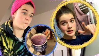 Lauřin svět | Rutina v karanténě /umyté vlasy během velké přestávky
