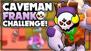CAVEMAN FRANK BOSS FIGHT CHALLENGE! - Unlocking Caveman Frank! - Boss Fight Gameplay! - Brawl Stars