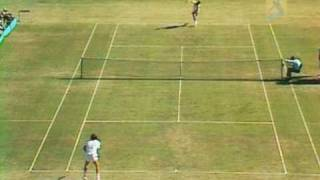 Newcombe V Connors: 1975 Australian Open Mens Final Highlights