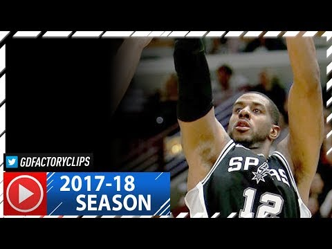 LaMarcus Aldridge Full Highlights vs Bulls (2017.10.21) - 28 Pts, 10 Reb