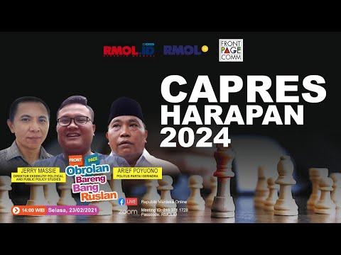 Obrolan Bareng Bang Ruslan • Polling 24 Tokoh Harapan, bersama Arief Poyuono dan Jerry Massie