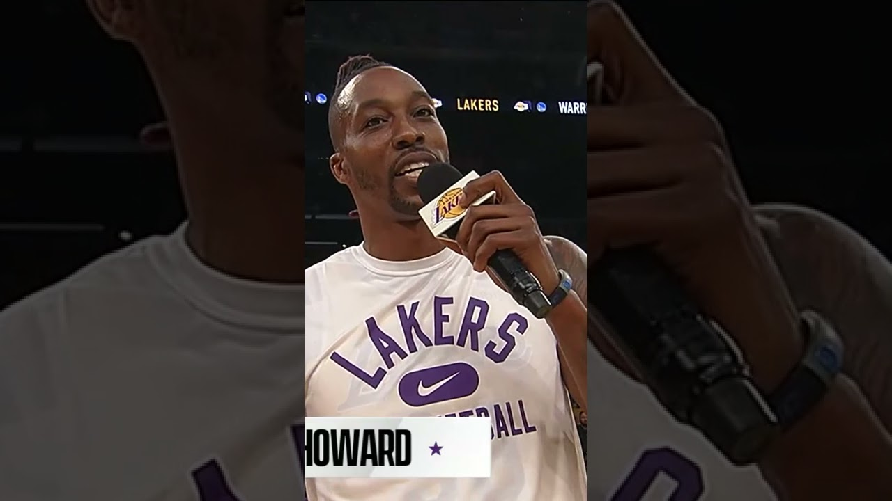 Dwight Howard is EXCITED for NBA 75 💎 | #shorts