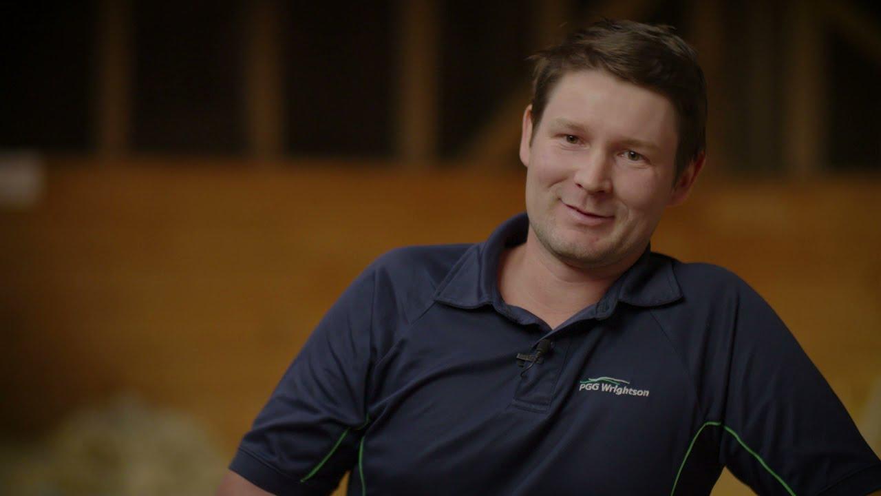 Joseph Watts Young farmer of the Year