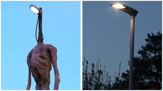 Siren Head And Light Head In Real Life !!!
