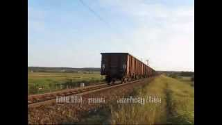 preview picture of video 'Riding a freight train. Pietrasze and around Wasilkow Bialystok.'
