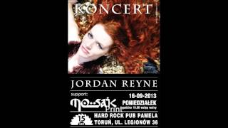 KONCERT: JORDAN REYNE (SUPPORT MOSAIC) - 16.09.13