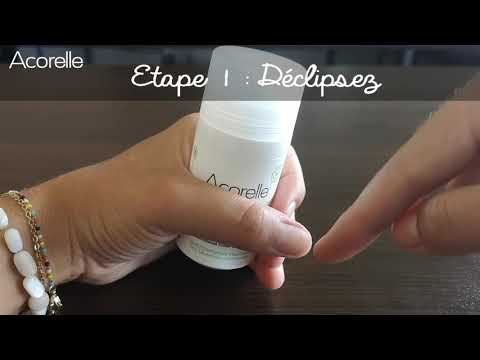 Tutorial: Deodorant Refill (French)