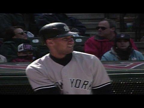 Watch Derek Jeter's first career home run in 1996