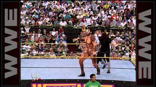 The Undertaker faces the towering Giant Gonzalez at