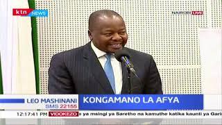 Rais Uhuru Kenyatta ahudhuria kongamano la afya