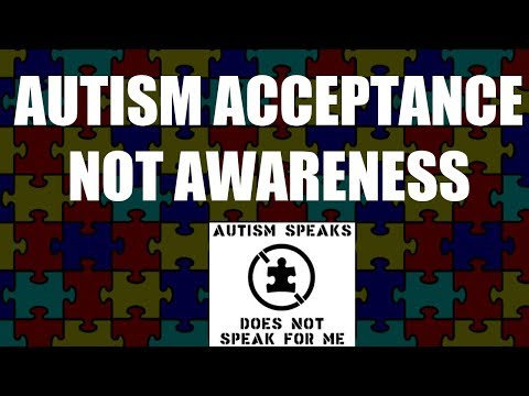 Autism Acceptance | Not Awareness