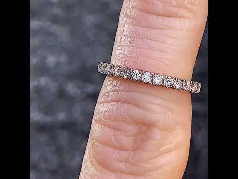 Matching Moissanite band for ENG222A