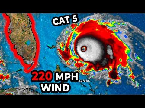 220 MPH WIND | The Strongest Hurricane In History (Hurricane Dorian Update #4)