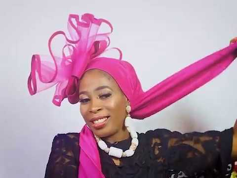 Gele ARA, easy way to tie MEDIUM SIZE