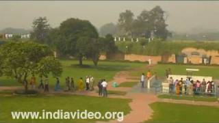 Raj Ghat, final resting place of Mahatma Gandhi