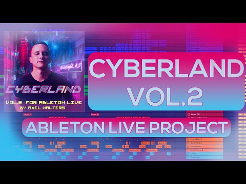 Cyberpunk Template For Ableton Live Cyberland Vol 2