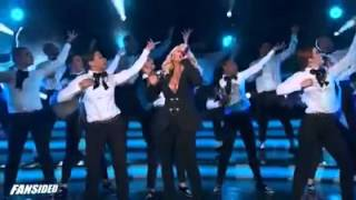 Christina Agulera Epic Performance NBA All Stars Game 2015