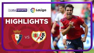 Osasuna 1-0 Rayo Vallecano Pekan 8