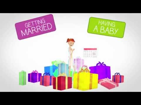 Video Create your Wedding Registry at MyRegistry.com