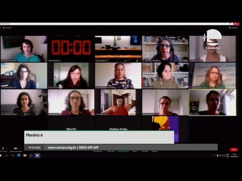 (Em português) Secretaria da Mulher debate direitos e cidadania em tempos de pandemia - 19/03/2021