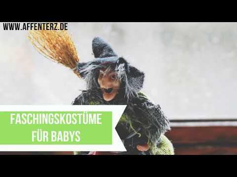 Faschingskostüme Hexe Kinder - kleine Hexen fliegen auch zum Karneval