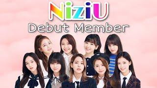 【NiziU】 デビューメンバー紹介・debut members (虹プロ Nizi Project)