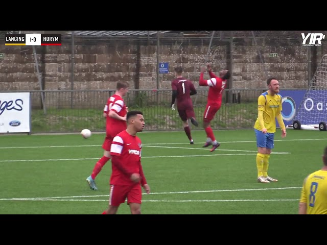 Highlights: Lancing 1 Horsham YMCA 1 (League)