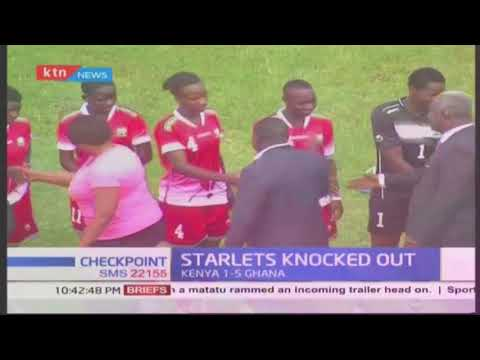 Starlets Knocked Out: The Kenyan team was eliminated on 10-1 aggregate
