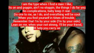 Aaliyah - I gotcha back w/ lyrics
