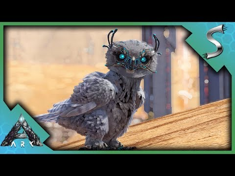 THEY GAIN SPEED? SNOW OWL BREEDING! - Ark: Extinction [DLC Gameplay E18]