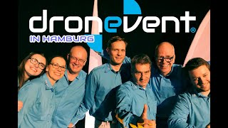 Dronvent zu Gast in Hamburg - Incentives und Teambuilding mit Drohnen