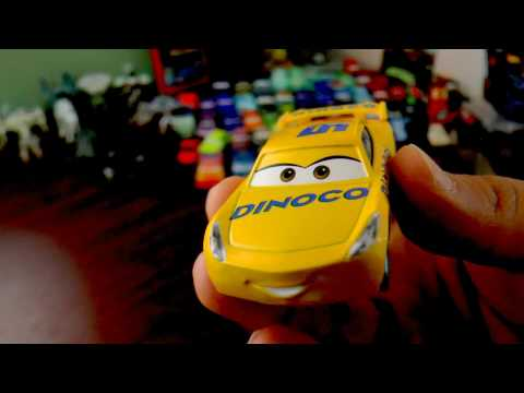 Unboxing #Cars3 Dinoco Cruz Ramírez #Disney #LightingMcQueen #Pixar