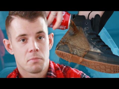 People Try Waterproof Converse Sneakers