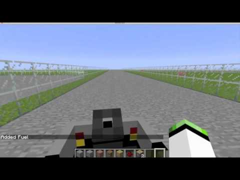Amazing Race Track The Car Mod Minecraft Project