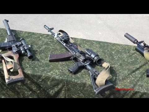Обзор стрелкового оружия ССО Вооружённых Сил РБ видео