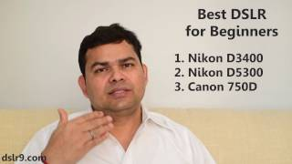 Best DSLR Camera for Beginners (Hindi)
