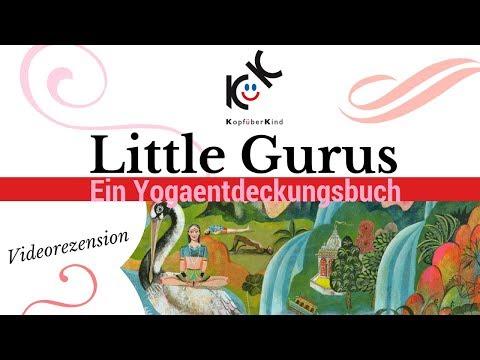 Auf Entdeckungsreise - Little Gurus - Ein Yoga-Entdeckungsbuch mit Illustrationen von Olaf Hajek