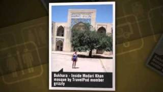 preview picture of video 'Adventures along the Silk Road Grizzly's photos around Samarkand, Uzbekistan (dilfuza bukhara)'