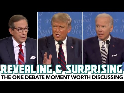 The One Debate Moment Worth Discussing