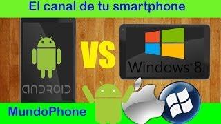 WINDOWS 8 VS ANDROID EN TABLETS  ¿TABLET CON ANDROID Ó WINDOWS 8? [MUNDOPHONE] ESPAÑOL