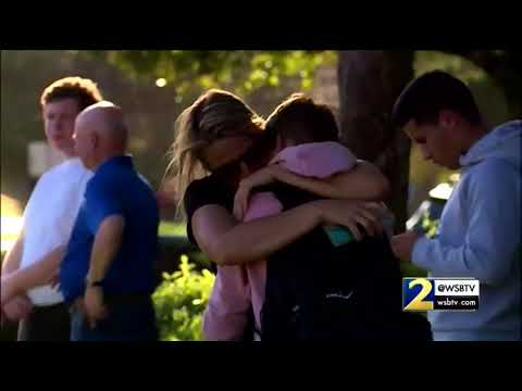 RAW VIDEO: Students reunited with parents following Florida high school shooting