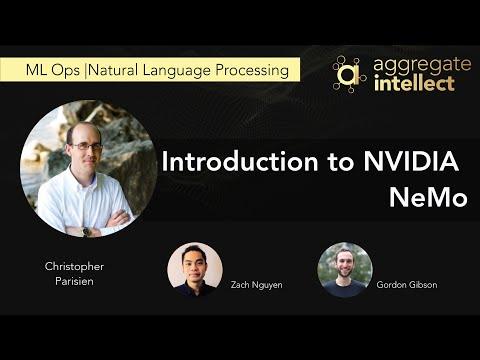 Introduction to NVIDIA NeMo