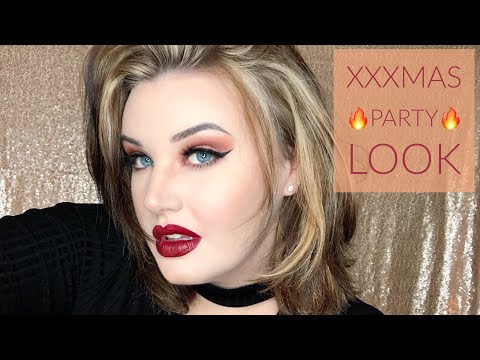 Red Hot XXX-Mas Party Look 🔥 | Blaize McKennah