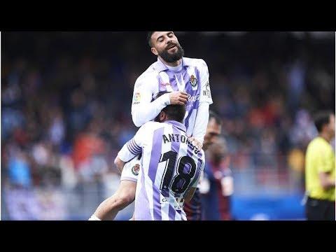 El Valladolid remonta al Eibar en el descuento