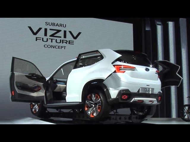 SUBARU VIZIV FUTURE CONCEPT THE INTERVIEW 東京モーターショー 2015