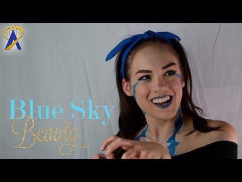 BLUE Sky Beauty - Jurassic World Inspired Makeup