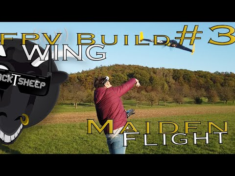 fpv-wing--build--maiden-flight-3--tutorial--arwing--deutsch