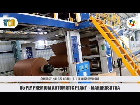 Automatic 3 / 5 Ply Plant - XPS Line