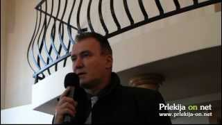 Tomislav Nemec o zdravstvu - Okrogla miza Evropske poti in sredstva za razvoj Slovenije